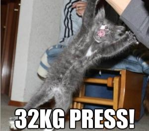 32 KG Press!